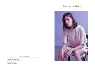 Bite me on Basics Photographer: Jacqueline Abadi Model: Cristina Duro @unobcn MUAH:Cris Santos