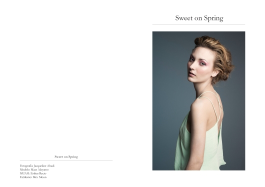 Sweet on Spring Editorial Photographer: Jacqueline Abadi Model: Maar Alayamo MUAH: Esther Recio