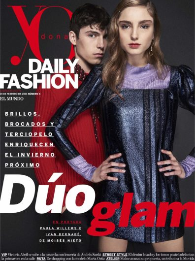 PAULA WILLEMS FOR YO DONA DAILY COVER